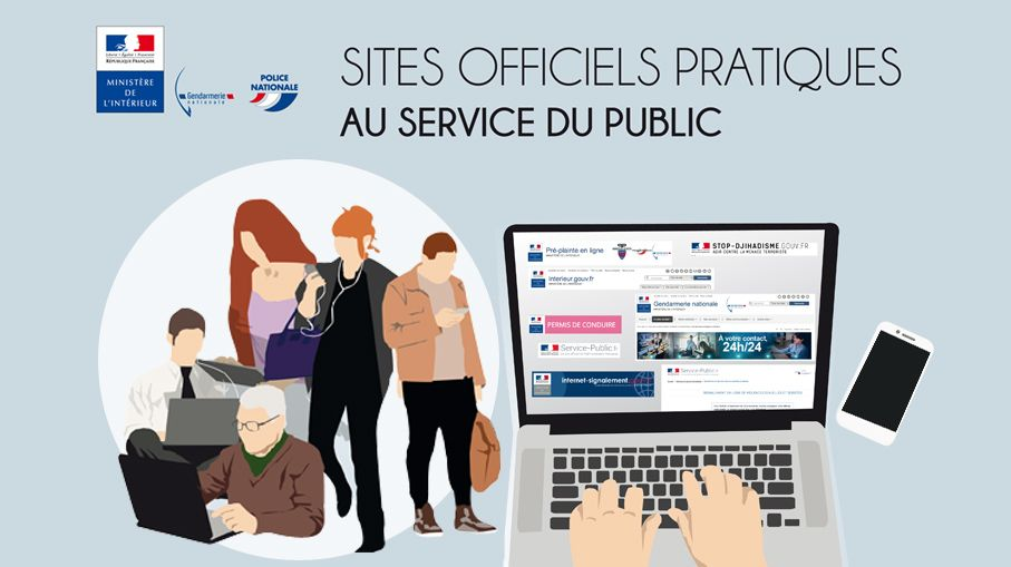 Sites officiels pratiques au service du public