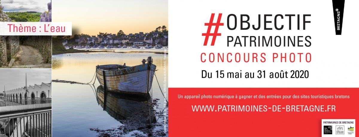 2ème édition du concours #Objectif Patrimoines